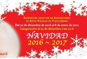 Salas C y COLECTIVOS.Del 22 de diciembre de 2016 al 8 de enero de 2017 COLECTIVA DE NAVIDAD  Los colectivos de artes visuales de Fuenlabrada realizarán una exposición colectiva […]
