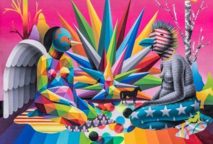 """La exposición OKUDA SAN MIGUEL """"El Jardin del Kaos"""" en los medios y blogs En Arte Informado http://www.arteinformado.com/agenda/f/el-jardin-del-kaos-139709 En BrooklynStreet Art Okuda San Miguel: """"El Jardin Del Kaos"""" (Madrid, […]"""