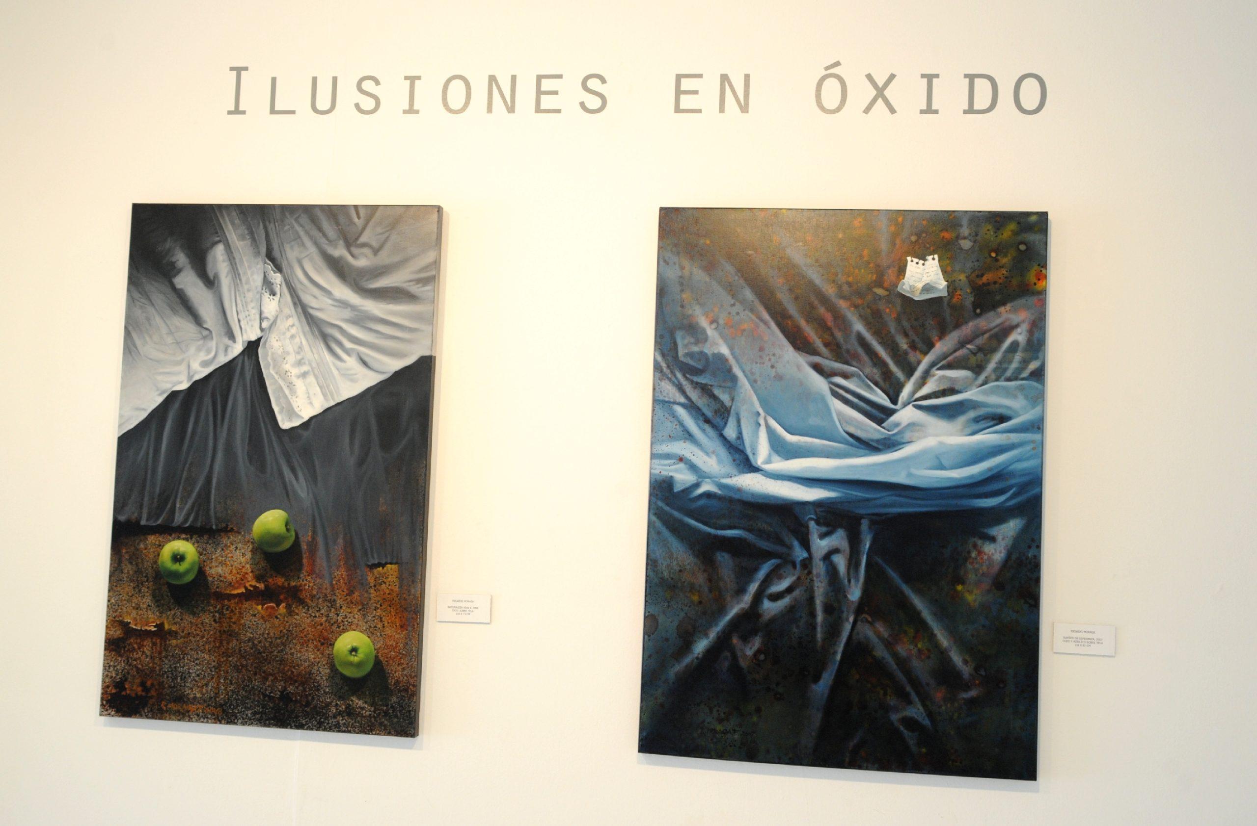 RICARDO MORAGA «Ilusiones en óxido»