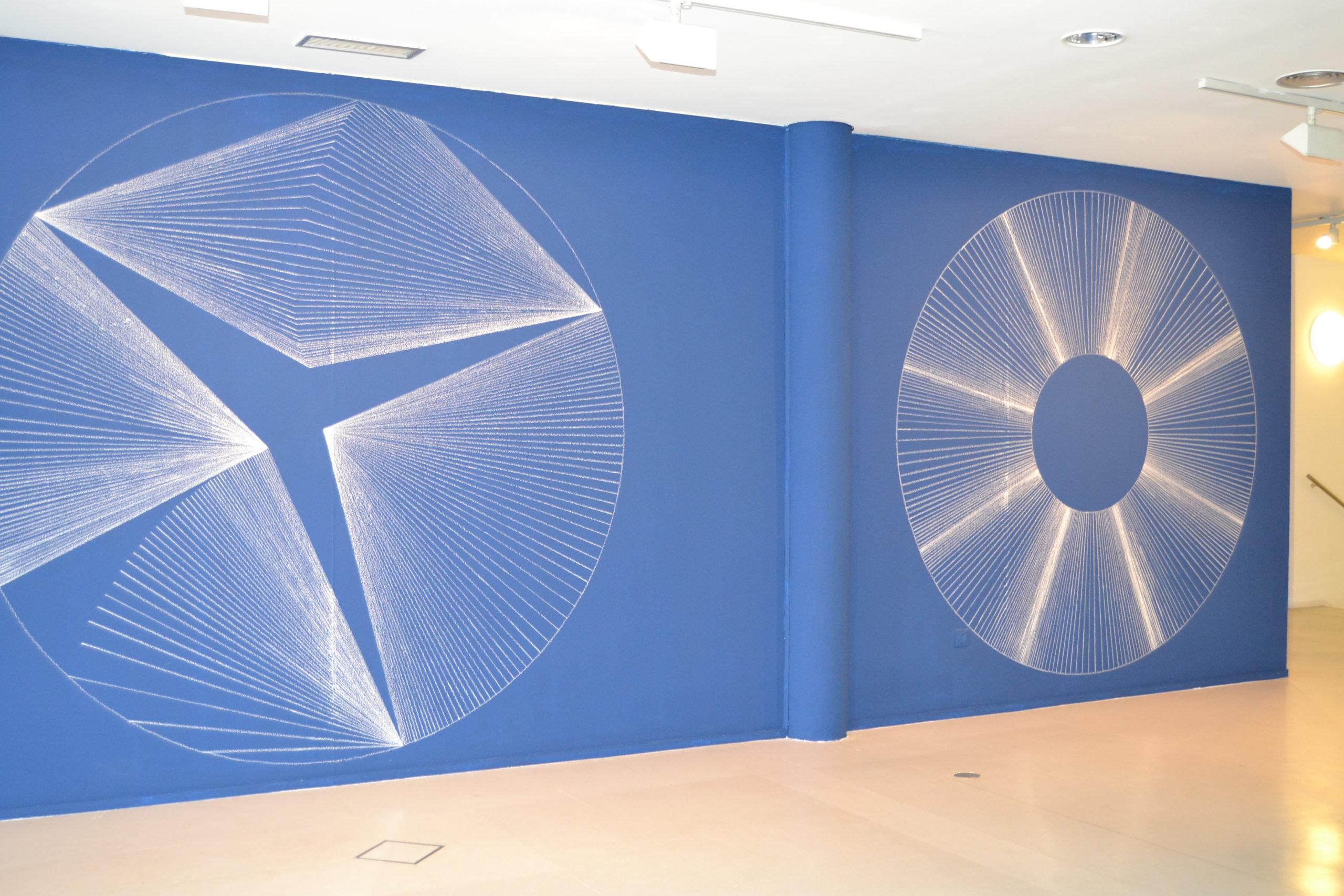 ROBERTO COROMINA «95 m2. Tiza sobre pintura»