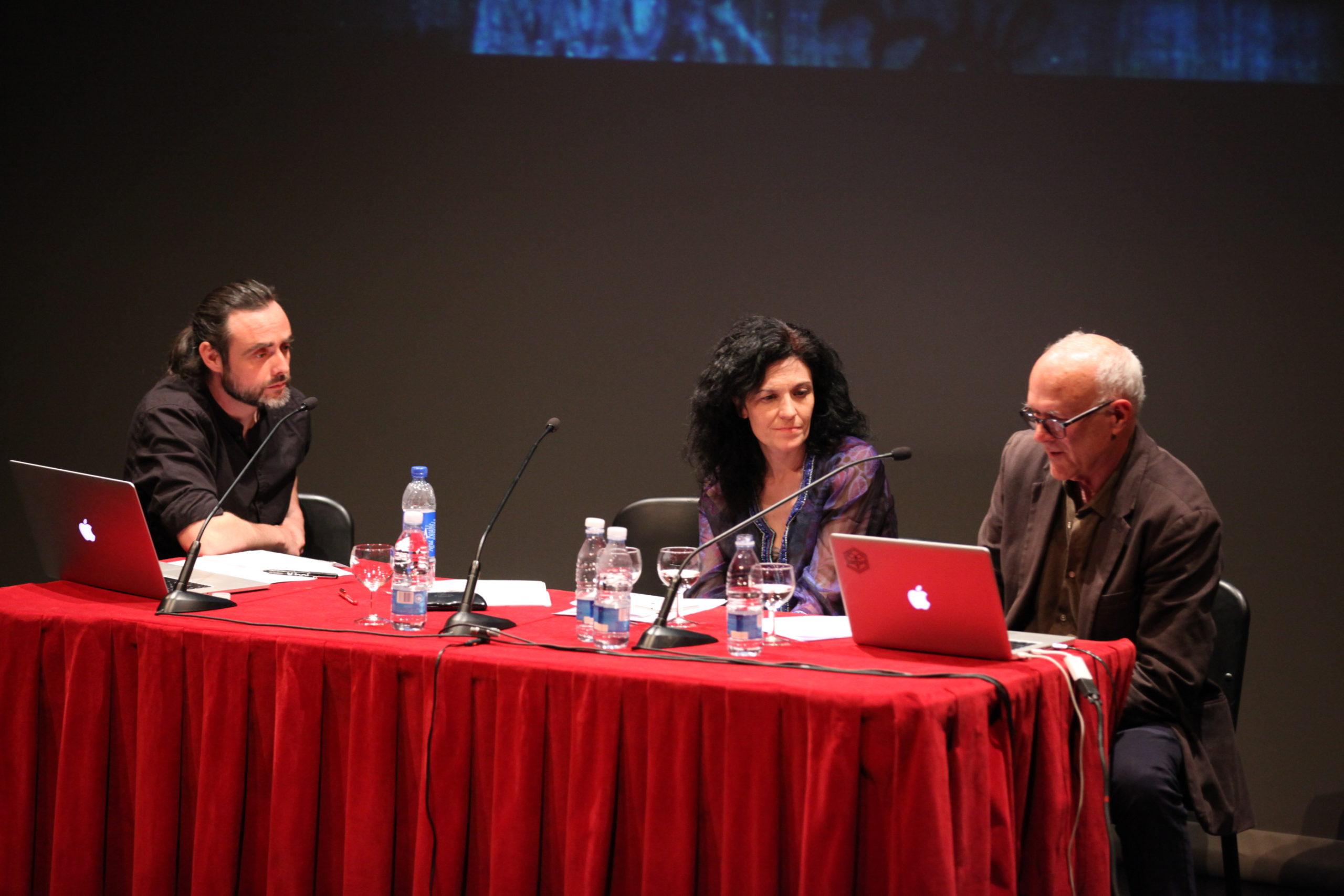 Mesa redonda & Conferencia Henry Chalfant, SUSO33, Tonia Raquejo y Susana Blas