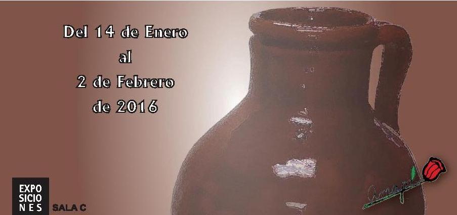 """ASOCIACIÓN DE CERAMISTAS AMAPOL """"Exposición anual"""" – Del 14 de enero al 2 de febrero de 2016. SALA COLECTIVOS"""