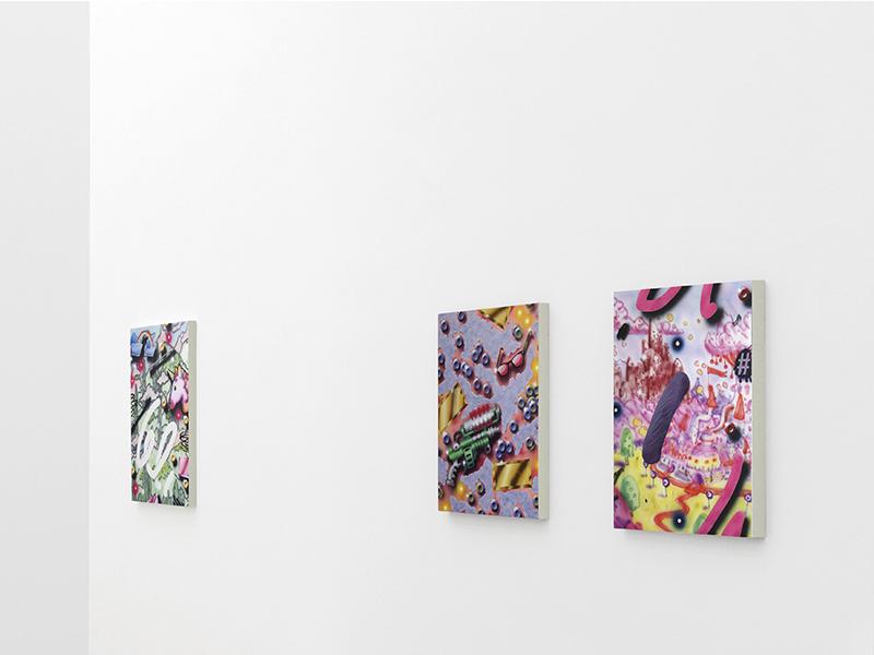 """JON ANDER GARCÍA """"AFK_painting"""" – Del 2 al 21 febrero 2017. SALA C"""