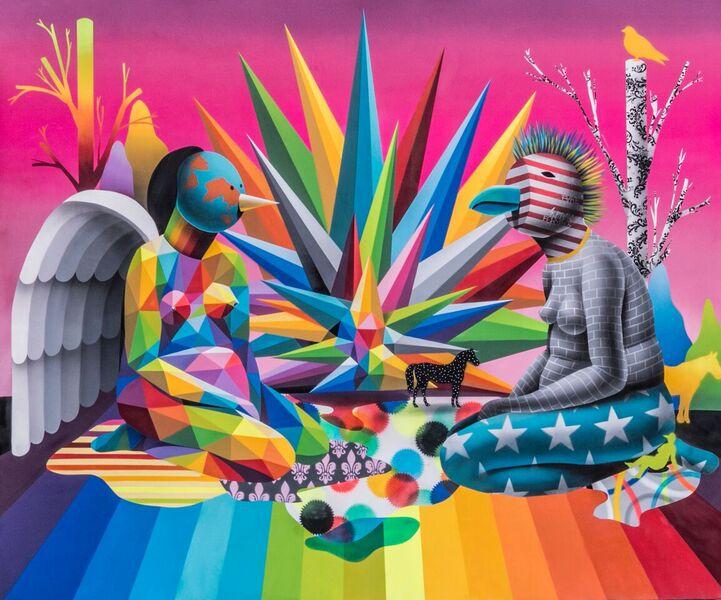 """OKUDA SAN MIGUEL """"El Jardin del Kaos"""" en prensa"""