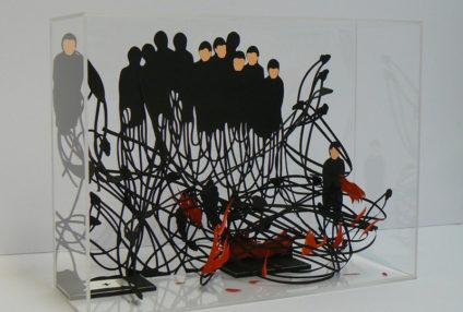 """Sala C.Del 7 al 26 de septiembre de 2017. JAVIER PULIDO """"Esculturas de sombras""""  Javier Pulido (Madrid, 1967) presenta en el CEART la exposición Diagnóstico del Vacío, su particular […]"""