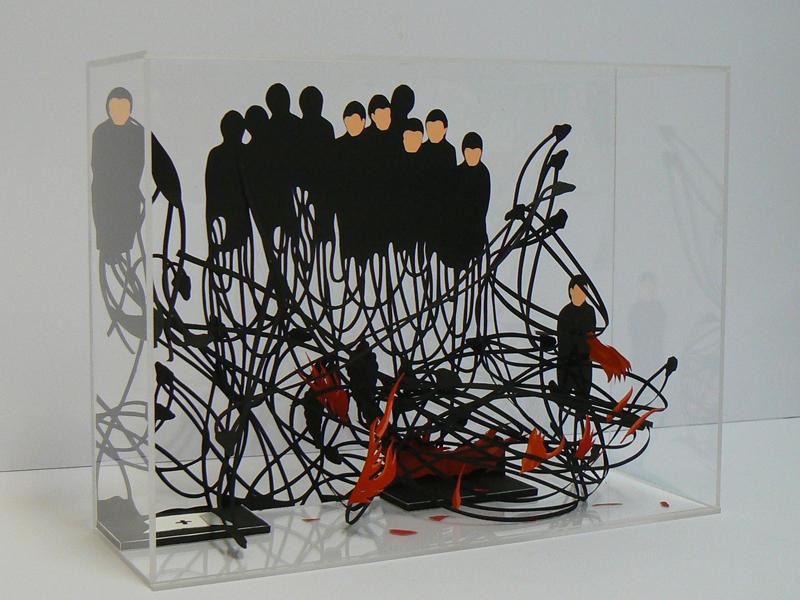 """JAVIER PULIDO  """"Esculturas de sombras"""" – Del 7 de septiembre al 17 de octubre de 2017. SALA C"""