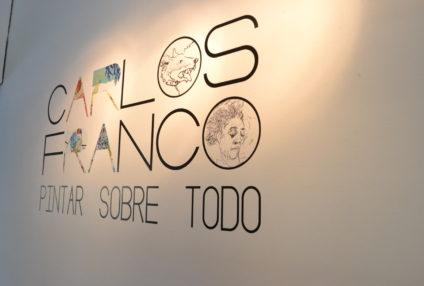 """Laexposición de CARLOS FRANCO """"Pintar sobre todo"""" en prensaen los medios y blogs"""