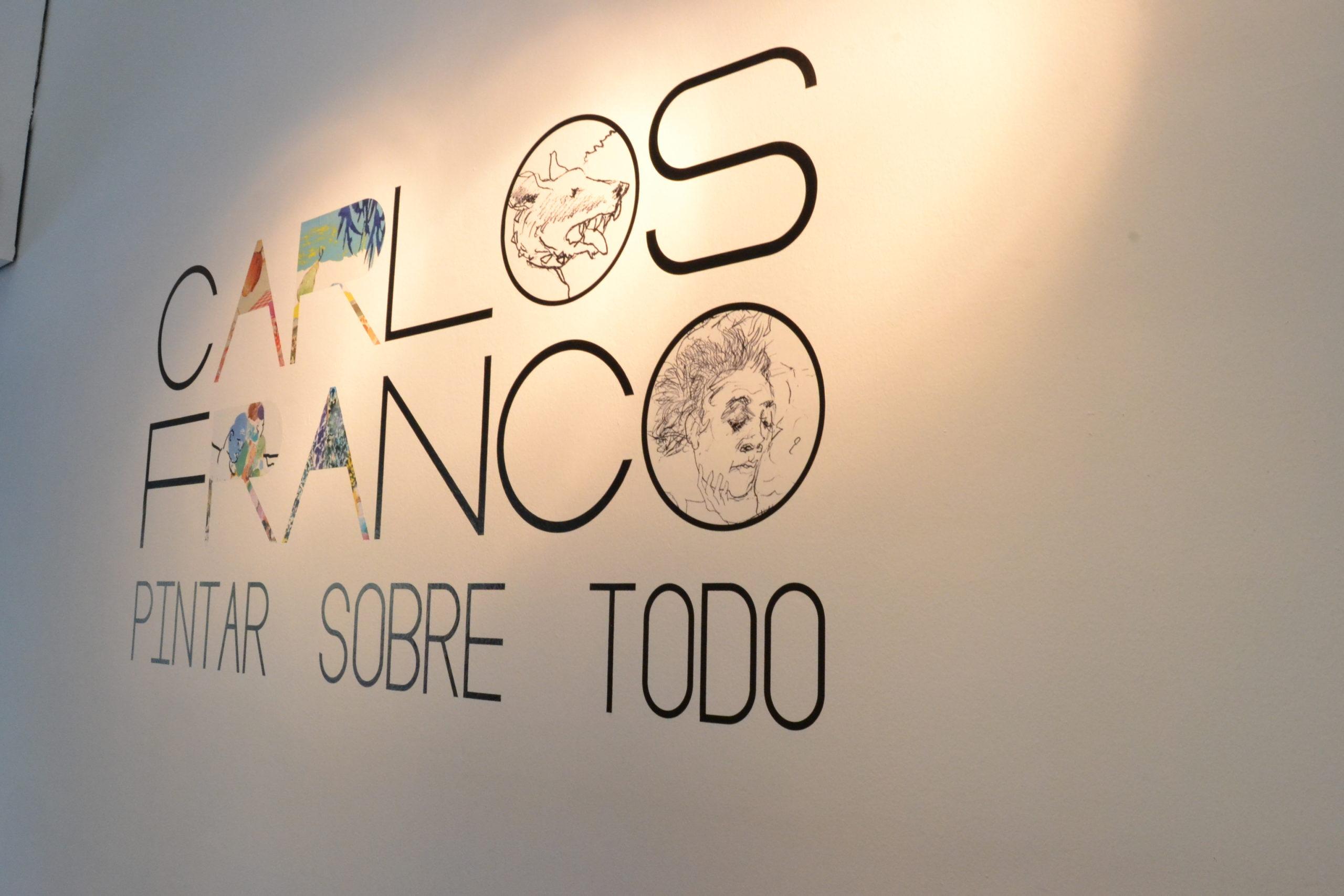 """CARLOS FRANCO """"Pintar sobre todo"""" en prensa"""