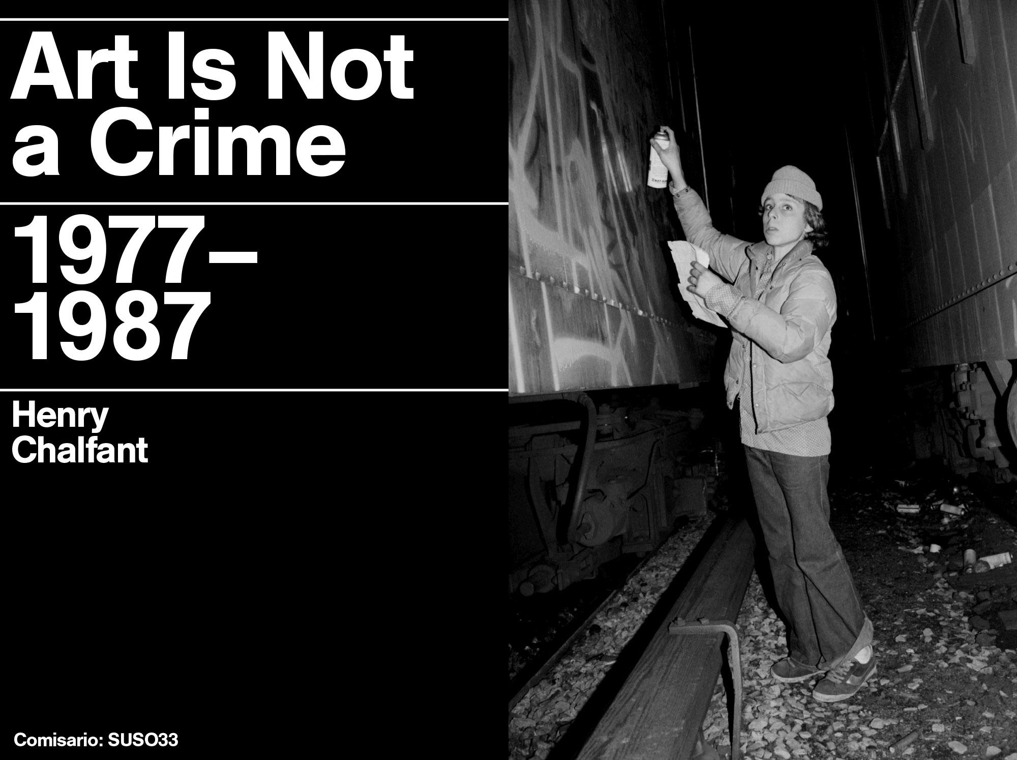 "HENRY CHALFANT. ""ART IS NOT A CRIME, 1977 – 1987"" Del 27 de septiembre al 18 de noviembre de 2018 SALAS A y B"