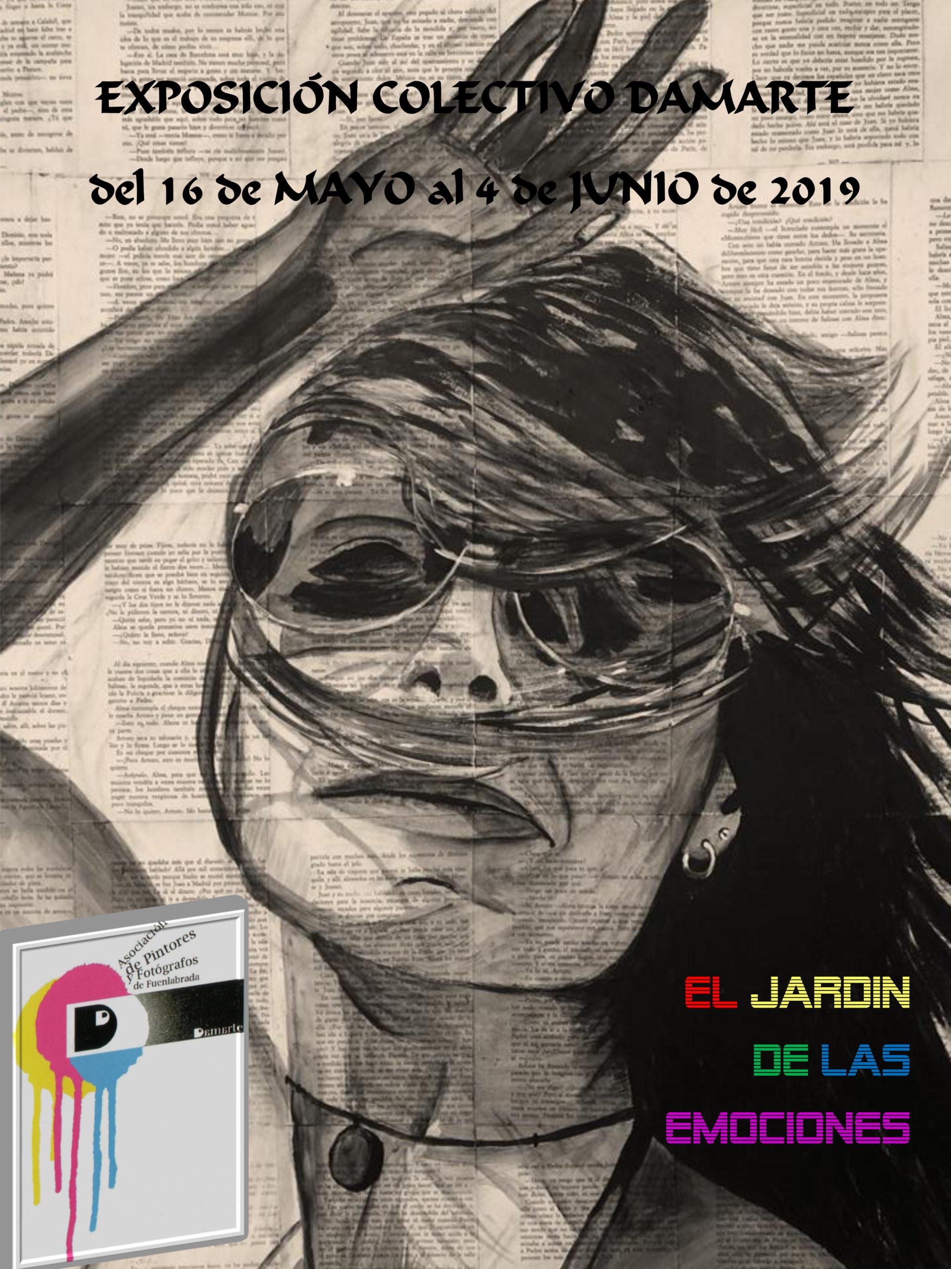 """COLECTIVO DAMARTE """"El Jardín de las emociones"""". Del 16 de mayo al 4 de junio  de 2019. SALA COLECTIVOS"""