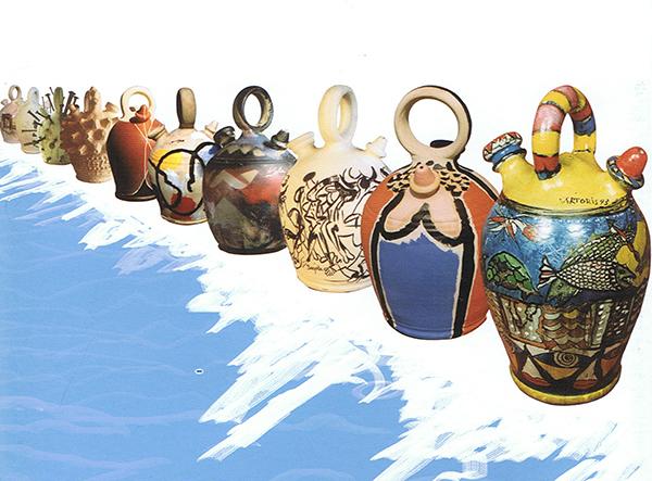 'La piel del agua', una exposición con trabajos de Dalí, Canogar, Forges o Mingote
