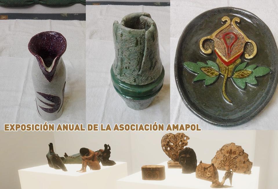 Exposición anual de la asociación de ceramistas AMAPOL – Sala C Colectivos