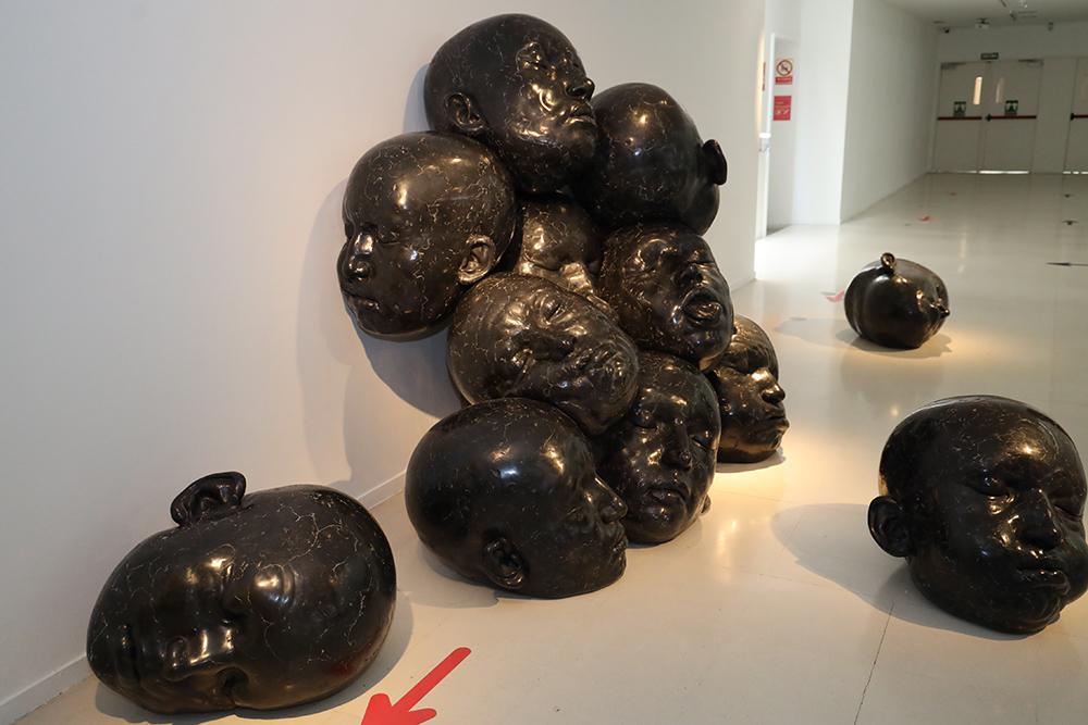 """Exposición """"ROLLIN' STONES"""" de Samuel Salcedo en la SALA B del CEART"""