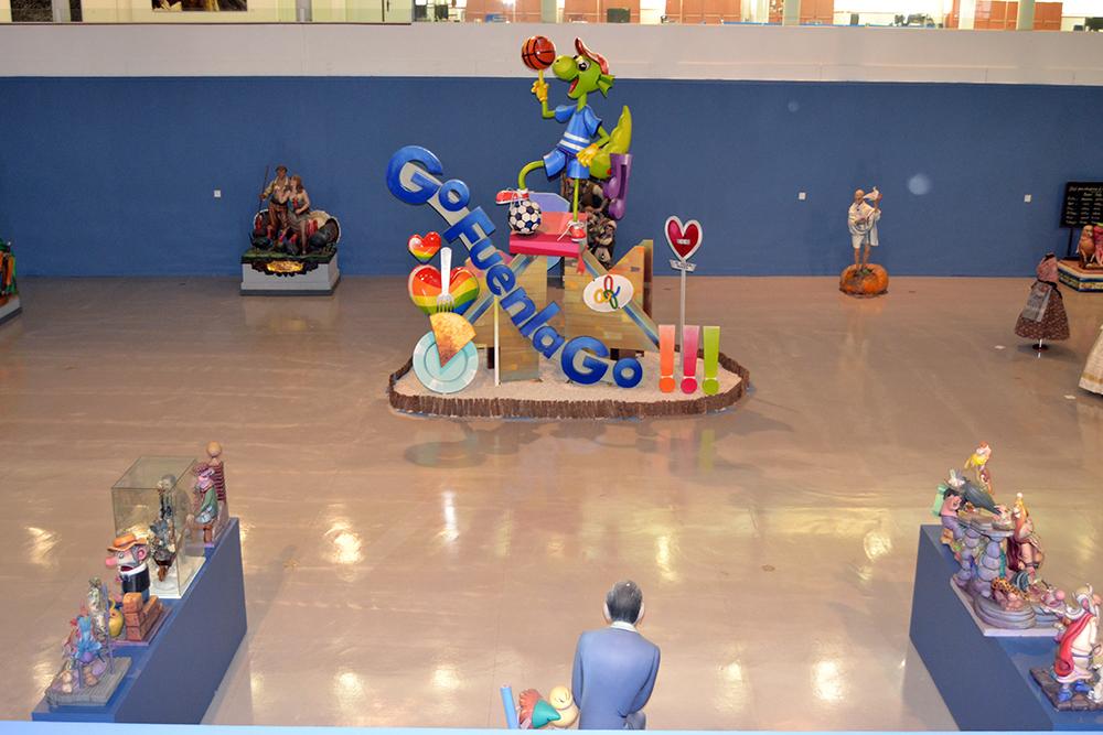 Exposición Fuenlabrada en Fallas. Sala A del CEART